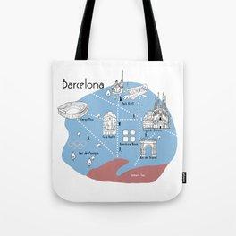 Mapping Barcelona - Original Tote Bag
