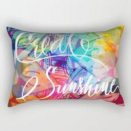 Create Sunshine Rectangular Pillow