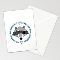 Mr. Raccoon Stationery Cards