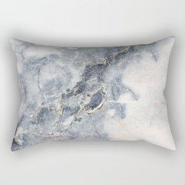 Gray Marble Texure Rectangular Pillow