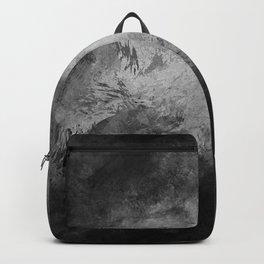Dark splashed background Backpack