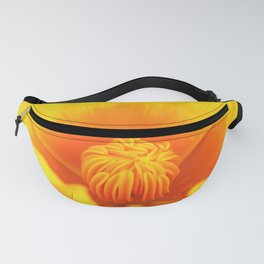 Poppy- close up Fanny Pack