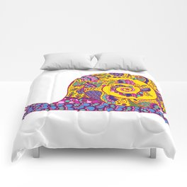 Colorful Snail Comforters