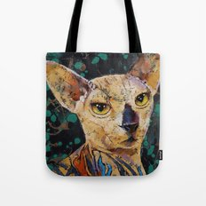 Tattooed Sphynx Tote Bag