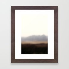 On the road #4 Framed Art Print