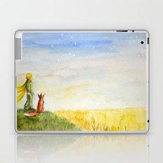 Little Prince, Fox and Wheat Fields Laptop & iPad Skin