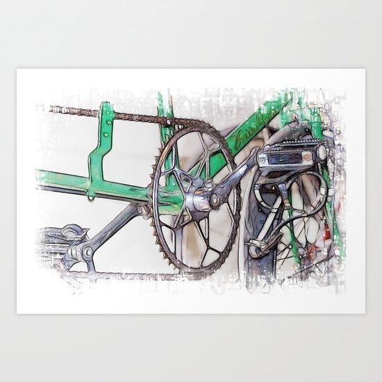 Pushing It Art Print