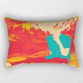 Mountain High Rectangular Pillow