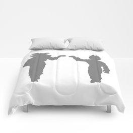 DBZ Goku Vegeta Shadows Comforters