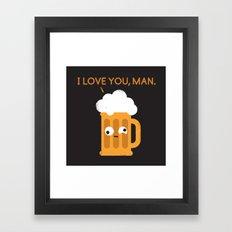 Brewmance Framed Art Print