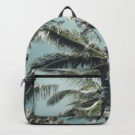 Kuau Palm Beach Maui Hawaii Sea Green Backpack