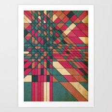 kriskras Art Print