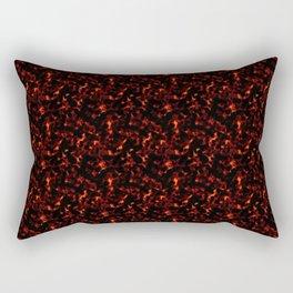 Dark Tortoiseshell Rectangular Pillow