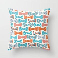 Geometric Bows Throw Pillow