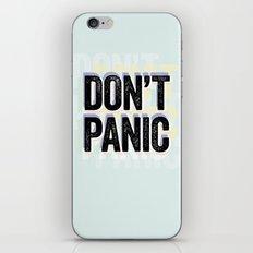 DON'T PANIC! iPhone & iPod Skin