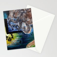Literary Octopus Stationery Cards