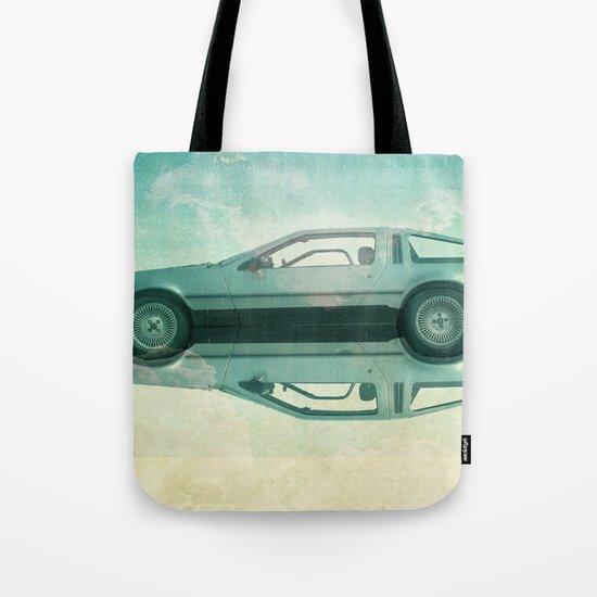 Siamese  Delorean Tote Bag