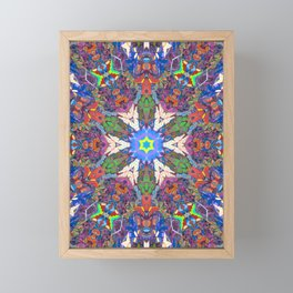 Easter Mandala Framed Mini Art Print