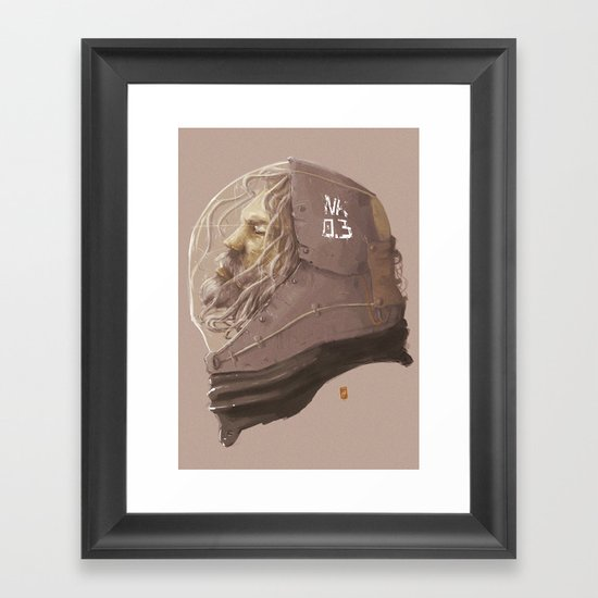 old survivor Framed Art Print