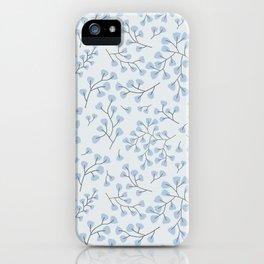 Blue Maidenhair iPhone Case