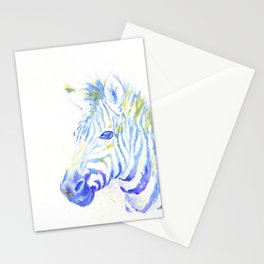 Quiet Zebra Stationery Cards