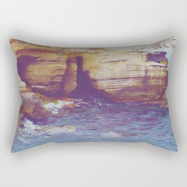 Cliffside Caves Rectangular Pillow