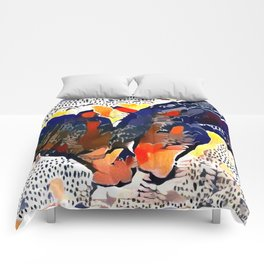 I Spotted Horses Comforters