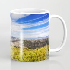 View of Silvermine and False Bay Mug