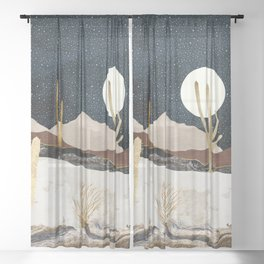 Desert View Sheer Curtain