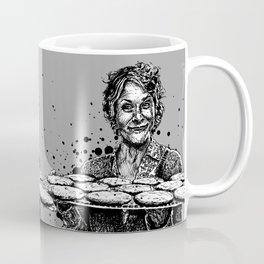 Carol's Got Cookies! From the Walking Dead. Melissa McBride in comic book form. Coffee Mug