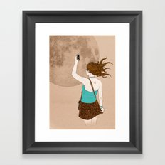 Instagramer Framed Art Print