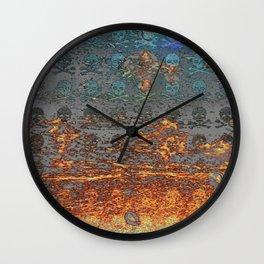 Dead Frost Skulls Wall Clock