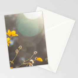 The first rays of light Stationery Cards