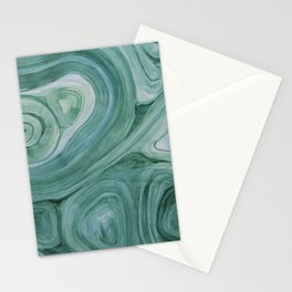 Malachite1 Stationery Cards