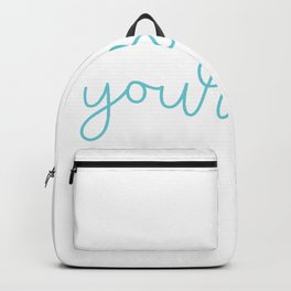 Semicolon Love Yourself Suicide Awareness Mental Supporter product Backpack