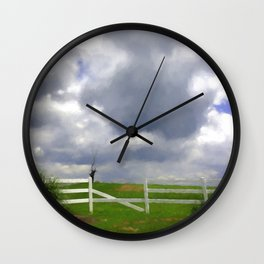 One Hot Summer Day Wall Clock