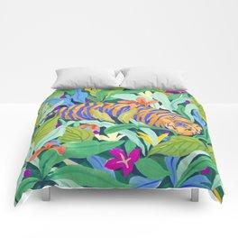 Colorful Jungle Comforters