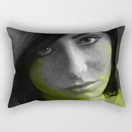 Toxic Rectangular Pillow