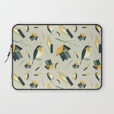 Flying Birdhouse (Pattern) Laptop Sleeve