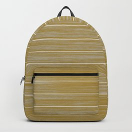Fall Colors Trends Spicy Mustard Yellow Beach Hut Cladding Backpack