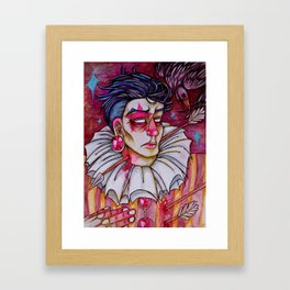 Just Another Love Martyr Framed Art Print