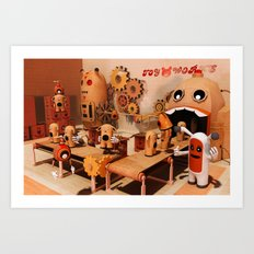 Toy Works Art Print