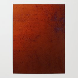 Textured Bronze - Abstract painting Poster
