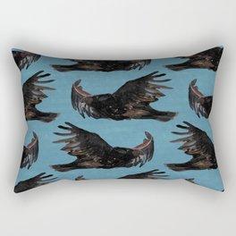 vulture pattern Rectangular Pillow
