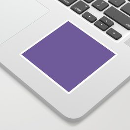 Ultra Violet Purple - Color of the Year 2018 Sticker