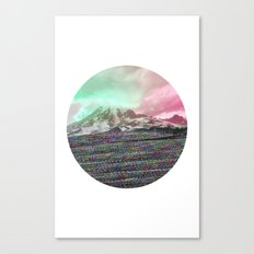 Mount Wisdom [cropped] Canvas Print