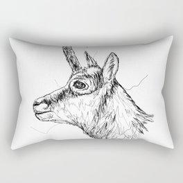 Gams Scribble Rectangular Pillow