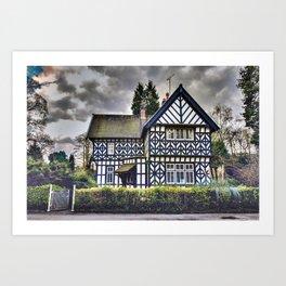 Tudor Home Art Print