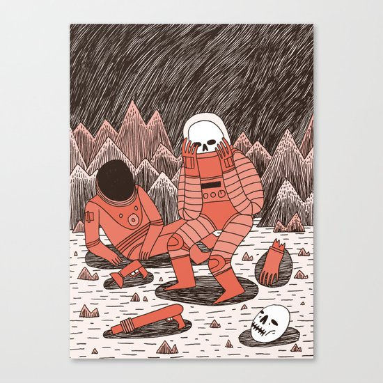 Death in Space Canvas Print