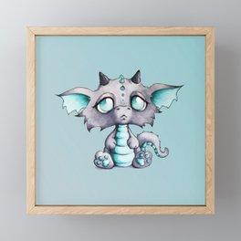 Baby Lavender Dragon Framed Mini Art Print